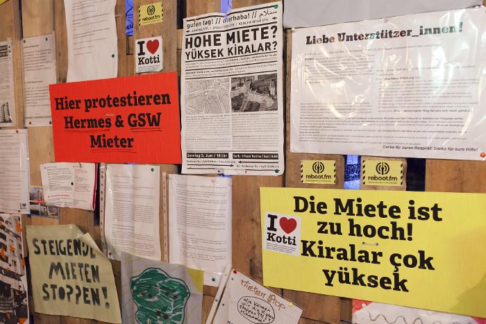 Berliner Mieter*innen protestieren für eine gerechte Wohnpolitik